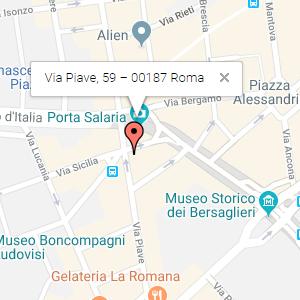 Via Piave, 59 – 00187 Roma
